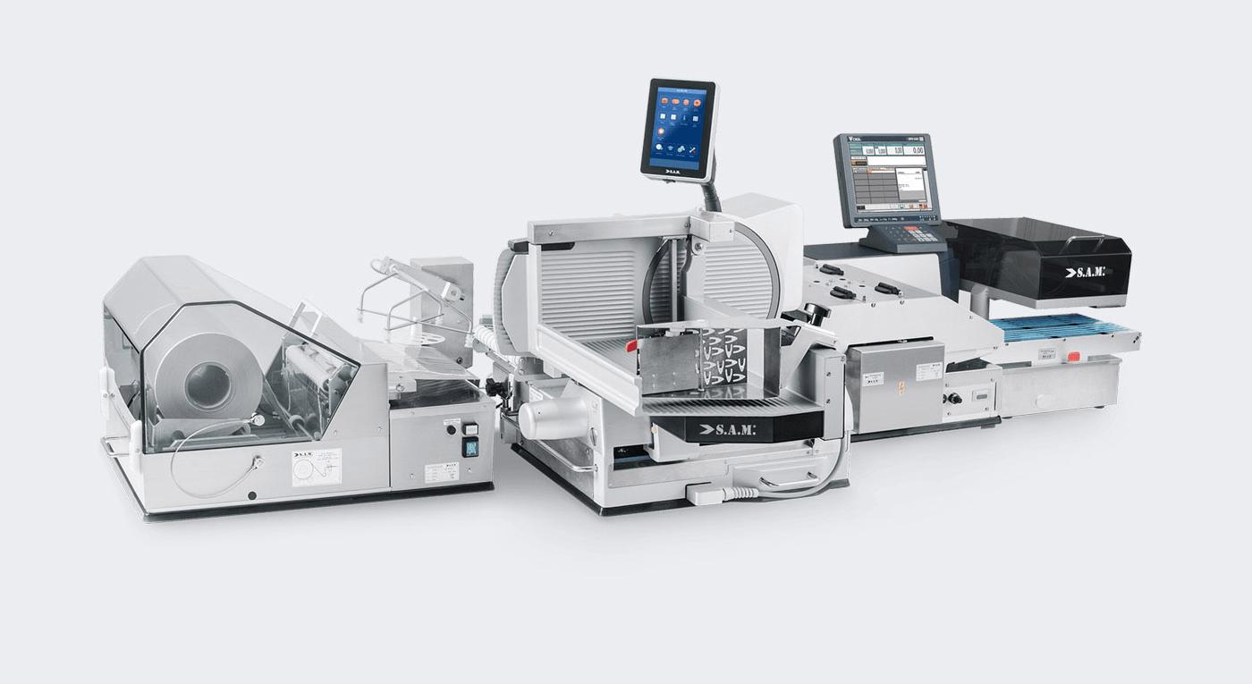 PX3 + Preisauszeichner   S.A.M. KUCHLER Electronics GmbH