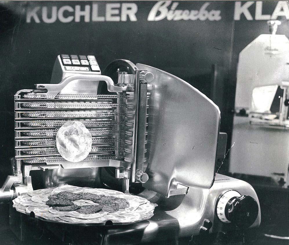 Sam Kuchler aufschnittmaschine 1971