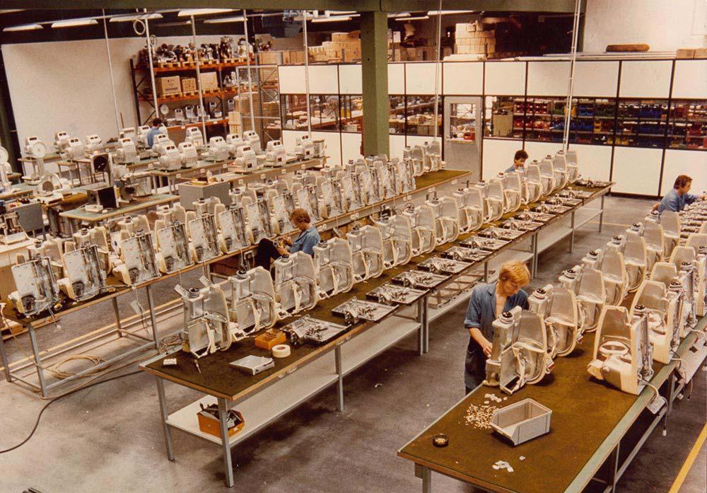 Sam Kuchler Aufschnittmaschinenproduktion 1976