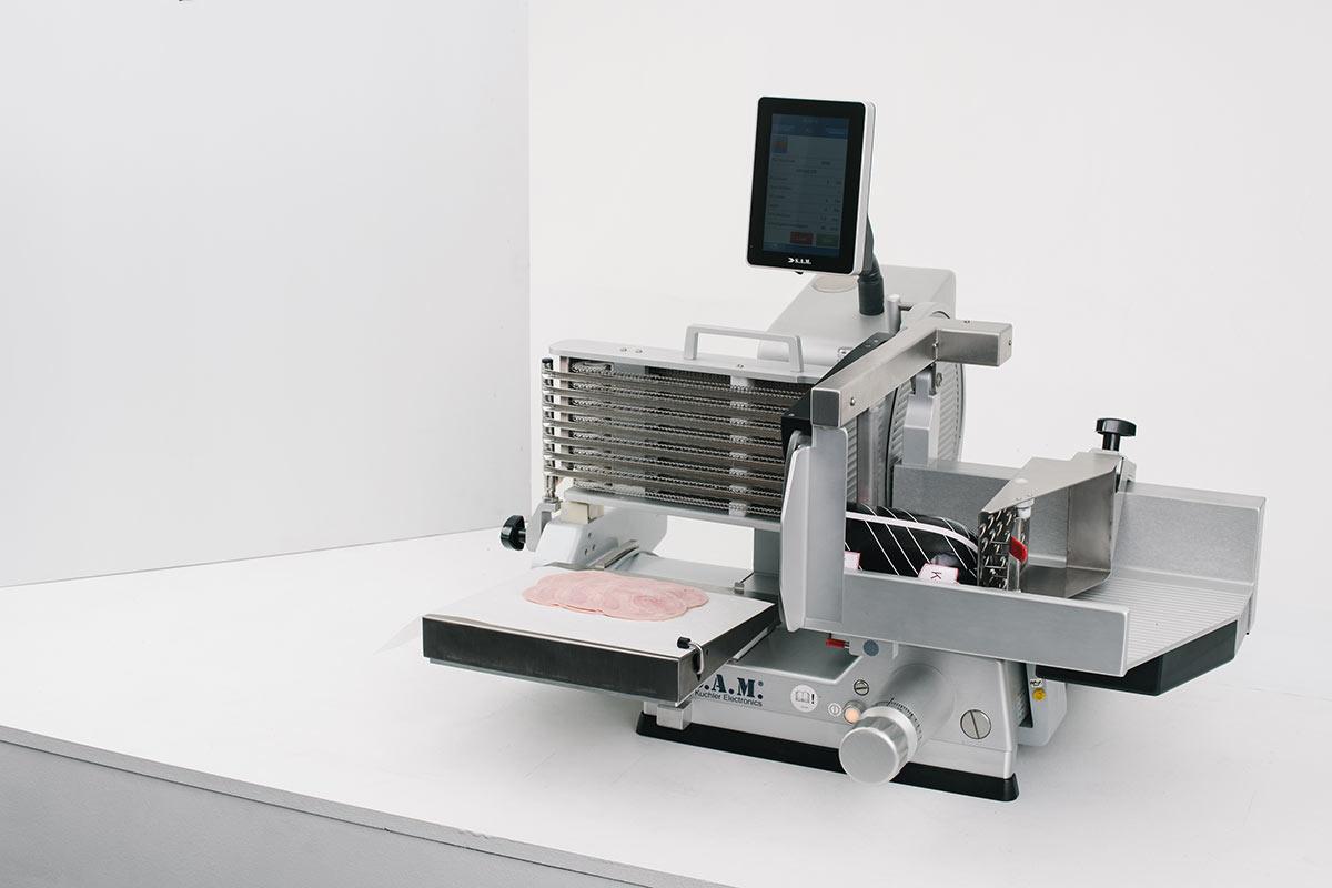 SAM Aufschnittmaschine, vollautomatisch, Touchpad