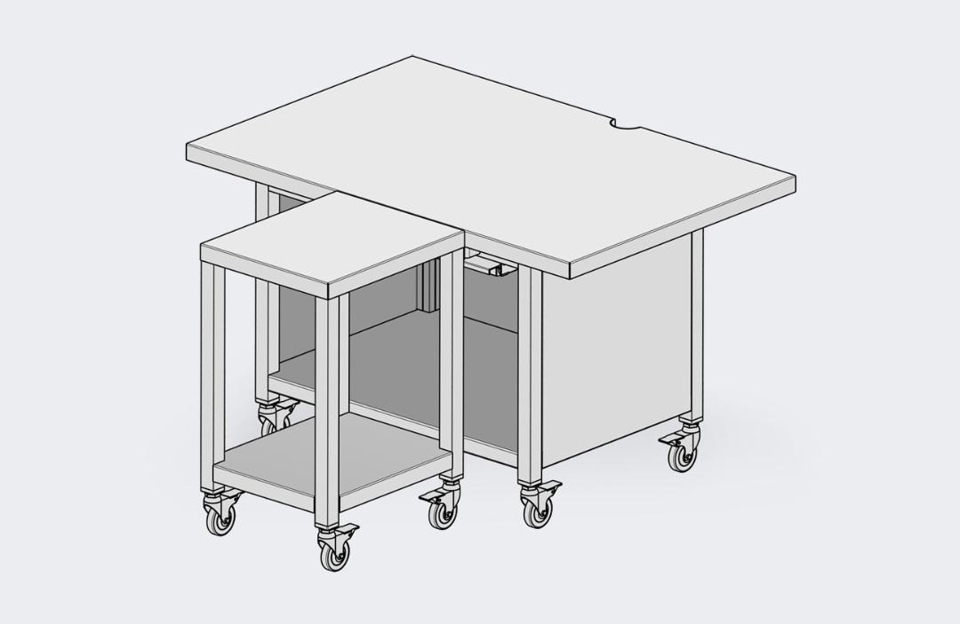 Tisch RX - S.A.M. KUCHLER Electronics GmbH