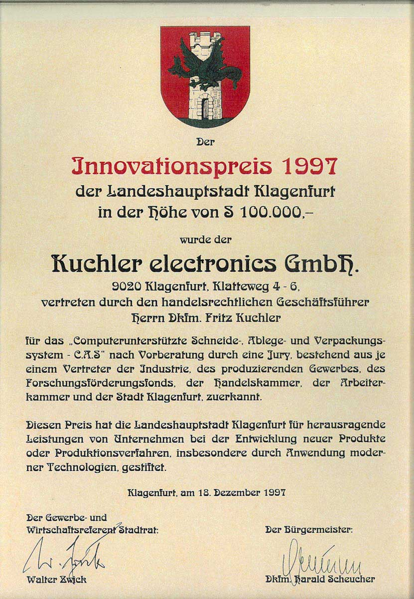 Sam Kuchler 1997
