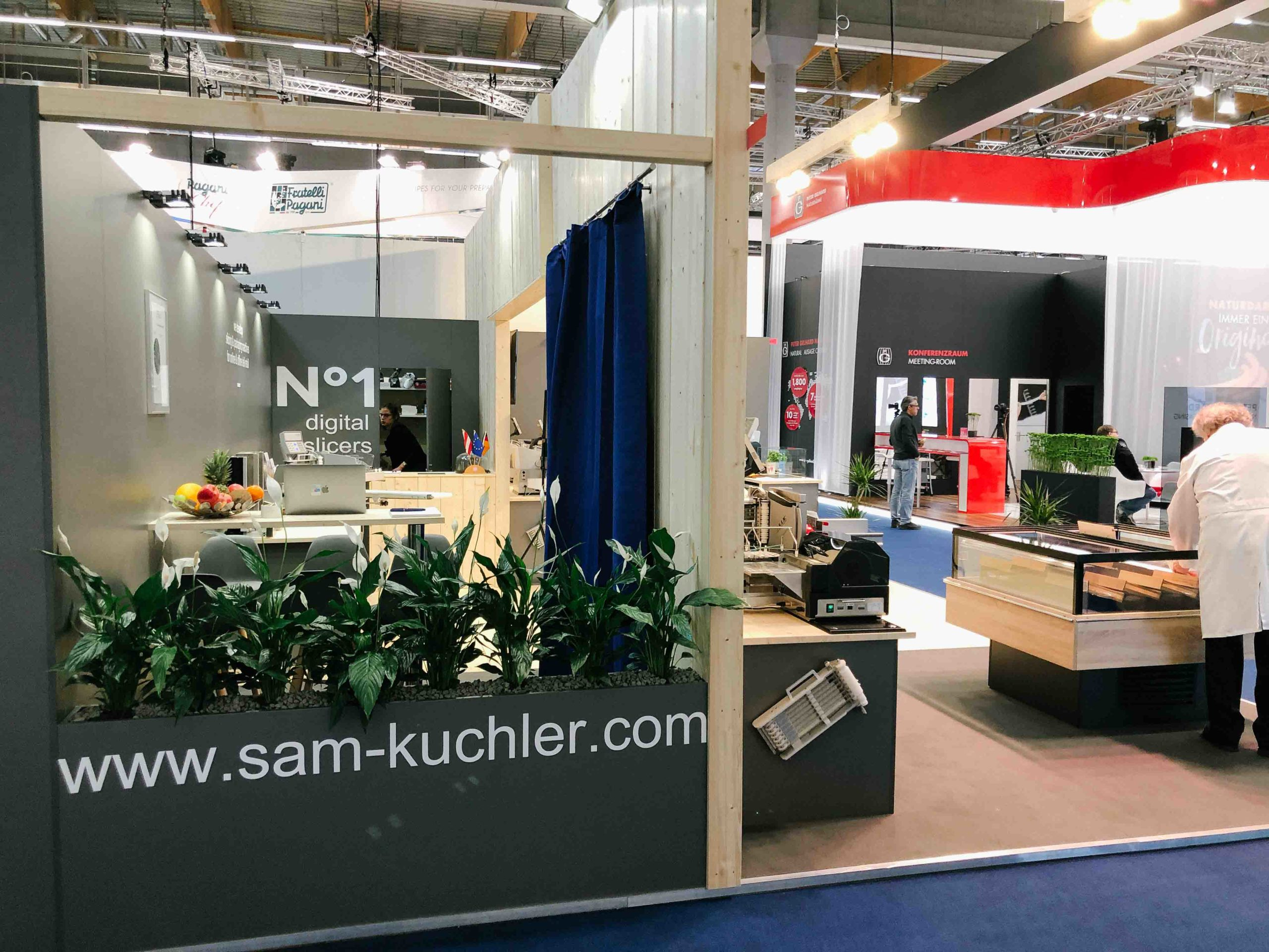 sam kuchler iffa messestand