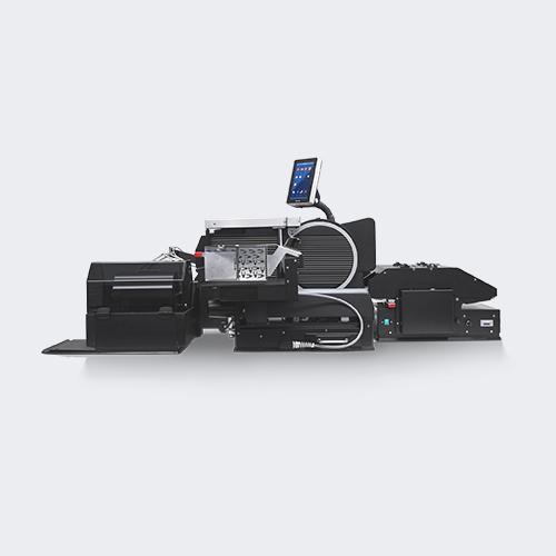 SAM Aufschnittmaschine, Verpackung, schwarz, Touchpad